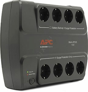 UPS 400VA  Back ES APC <BE400-RS> защита  телефонной  линии/RJ-45