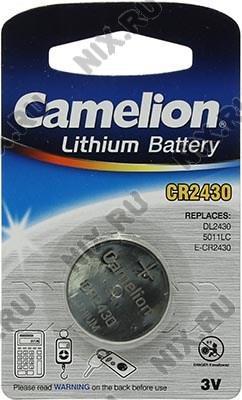 Camelion CR2430  (Li,  3V)