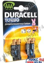 "Duracell PLUS/TURBO MN2400 (LR03) Size""AAA"",  1.5V,  щелочной  (alkaline)"