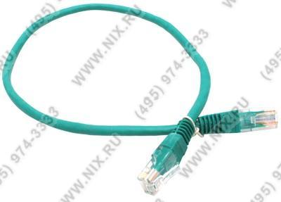 Patch Cord UTP  кат.5e  0.5м,  зелёный