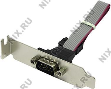 Espada <ECOMp-BRCTLow> Планка портов в  корпус  1xCOM9M  Low Profile