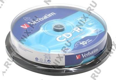 CD-R Verbatim   700Mb 52x sp. <уп.10 шт>  на  шпинделе  <43437>