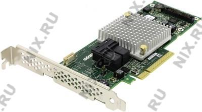 Microsemi/Adaptec RAID 8805 Single 2277500-R PCI-Ex8, 8-port int  SAS/SATA  12Gb/s, RAID 0/1/1E/10/5/6/50/60/JBOD,C