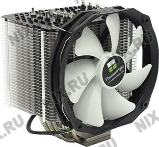 Thermalright <Macho Rev.B> Cooler (4пин, 775/1155/1366/2011/AM2-FM1, 15-21дБ,  300-1300  об/мин,  Cu+Al+тепл.тр)