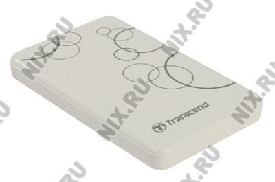 """TRANSCEND StoreJet 25A3 <TS1TSJ25A3W> USB3.0 Portable 2.5""""  HDD  1Tb  EXT (RTL)"""