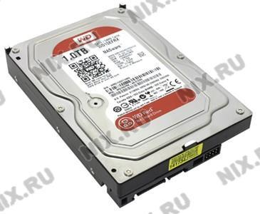 "HDD 1 Tb SATA 6Gb/s Western Digital Red <WD10EFRX>  3.5""  5400rpm  64Mb"