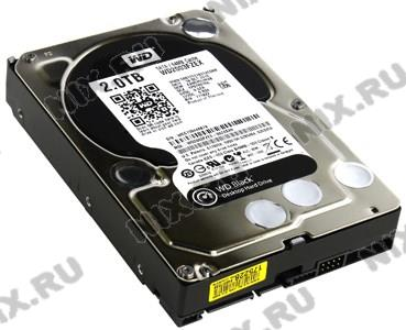 """HDD 2 Tb SATA 6Gb/s Western Digital Black  <WD2003FZEX>  3.5""""  7200rpm 64Mb"""