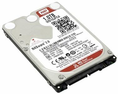 """HDD 1 Tb SATA 6Gb/s  Western Digital Red  <WD10JFCX>  2.5"""" 5400rpm 16Mb"""