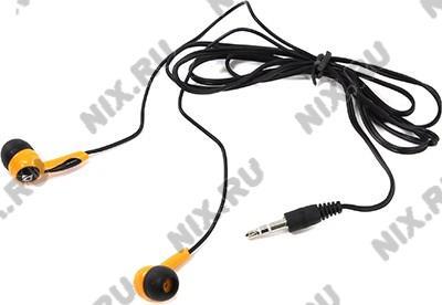 Наушники Defender Basic-604  Orange  (шнур 1.1м) <63606>