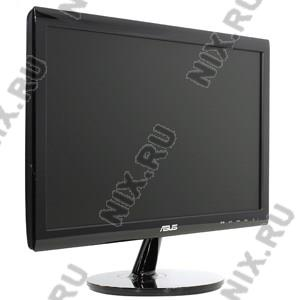 "18.5"" ЖК монитор ASUS VS197DE BK  (LCD,  Wide, 1366x768, D-Sub)"