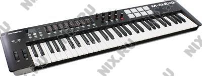 MIDI кл-ра M-Audio Oxygen 61-II/ 61 MK IV (61 клавиша,  5  октав,  19 регуляторов)
