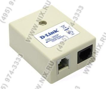 D-Link <DSL-39SP> ADSL Splitter (AnnexB,  вход  1xRJ-11, выход 2xRJ-11)