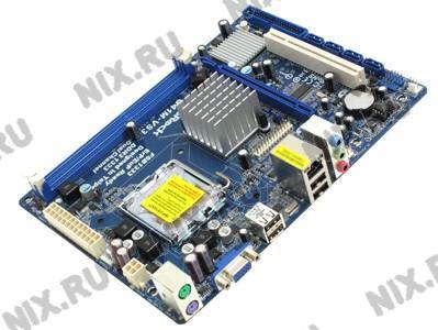ASRock G41M-VS3 R2.0 (RTL) LGA775 <G41>  PCI-E+SVGA+LAN  SATA MicroATX 2DDR3