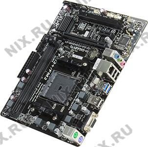 GIGABYTE GA-F2A68HM-S1 rev1.0/1.1 (RTL) SocketFM2+ <AMD A68H> PCI-E Dsub GbLAN  SATA  RAID MicroATX 2DDR3