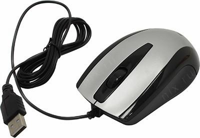 Defender Optical Mouse <Optimum MM-140 Silver> (RTL)  USB  3btn+Roll, уменьшенная <52140>