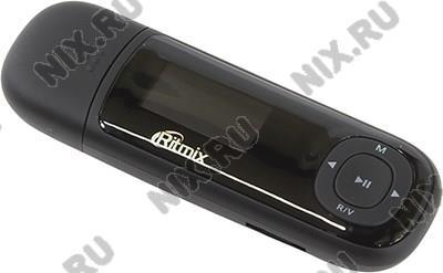 """Ritmix <RF-3450-4Gb> Black (MP3 Player, FM, 4Gb, 1"""", диктофон,  microSDHC,  USB2.0,  Li-Pol)"""