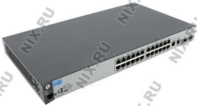HP 2530-24 <J9782A> Управляемый коммутатор (24UTP  100Mbps  + 4Combo 1000BASE-T/SFP)