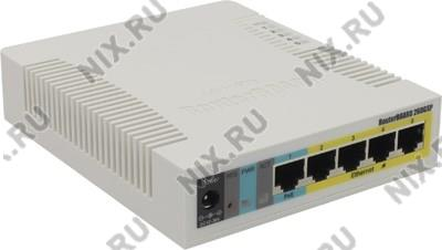 MikroTik <RB260GSP> RouterBOARD (4UTP 1000Mbps PoE +  1UTP  1000Mbps + 1SFP)