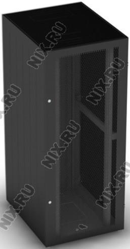 """NT BASIC MP24-610 B Шкаф 19"""" напольный, чёрный 24U  600*1000,  дверь  перфорированная (4ч)"""