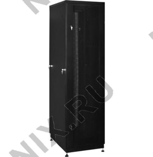 """NT PRACTIC 2 MP18-68 B Шкаф 19"""" напольный 18U 600*800, дверь  перфорированная,  чёрный  (3ч)"""