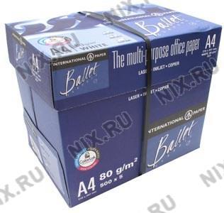 Упаковка 5 шт Ballet Classic A4 бумага (500 листов, 80  г/м2)  Россия