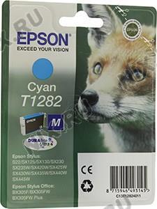 Картридж T1282 <Cyan>  для  EPS S22/SX125/130/230/235W/420W/425W/430W/435W/440W/445W/BX305F/305FW/305FW Plus