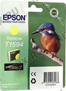 Картридж T1594 <C13T15944010> Yellow для  EPS  ST  Photo R2000