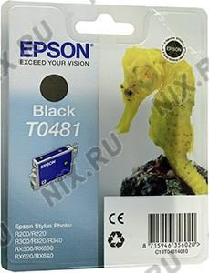 Картридж T048140 Black для EPS ST Photo  R200/220/300(ME)/320,  RX500/600/620/640