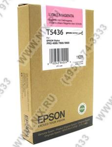 Картридж T5436 Light Magenta  для EPS  ST  Pro  4000/7600/9600