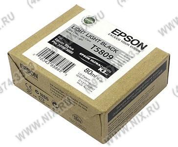 Картридж T5809 Light Light Black  для EPS  ST  Pro  3800