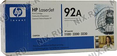 Картридж HP C4092A для HP LJ  1100(A)/3200,  Canon  LBP-800/810