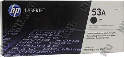 Картридж HP Q7553A (№53A) BLACK для  HP  LJ  P2015