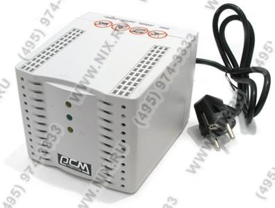 Стабилизатор PowerCom TCA-2000 Black (4.6 A,вх.192 ~ 253 В,вых. 220V±5%, 4  розетки  Euro)