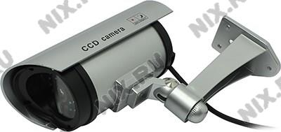 Orient <AB-CA-11> Муляж камеры видеонаблюдения (LED, питание  от  батарей  2xAA)