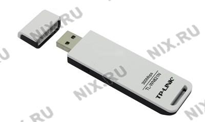 TP-LINK <TL-WN821N> Wireless N USB  Adapter(802.11b/g/n,  300Mbps)