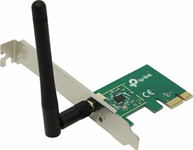 TP-LINK <TL-WN781ND> Wireless N PCI Express Adapter (802.11b/g/n,  150Mbps,  2dBi)